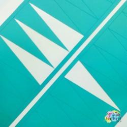 Dreieck Tape Nail Vinyls