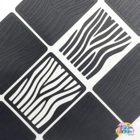 Zebrastreifen Nail Vinyls Lina Lackiert Shop