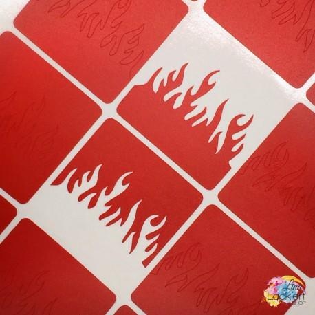 Feuer & Flamme Nail Vinyls Lina Lackiert Shop