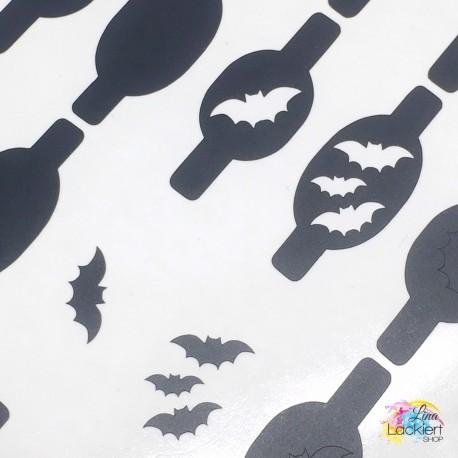 Fledermaus Nail Vinyls aus dem Lina Lackiert Shop