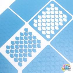 Fischschuppen Nail Vinyls aus dem Lina Lackiert Shop