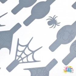 Spinnen Nail Vinyls aus dem Lina Lackiert Shop