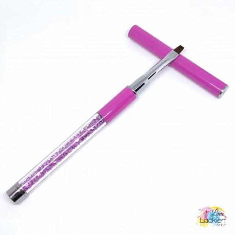Nailart & Cleanup Pinsel pink Lina Lackiert Shop