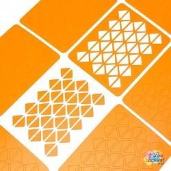 Dreieckig Nail Vinyls