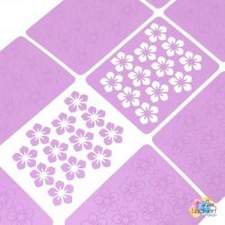 Blumenbeet Nail Vinyls