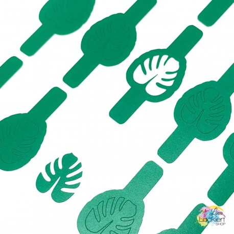 Monstera Nail Vinyls Lina Lackiert Shop
